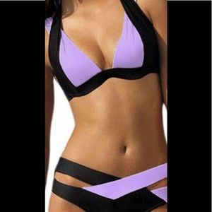 Other - 🔥🔥Hot Purple and Black Bikini 👙